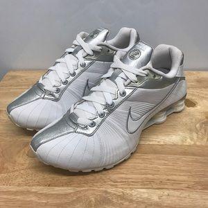 Nike Shox Women's Sz8.5 White 325211-111